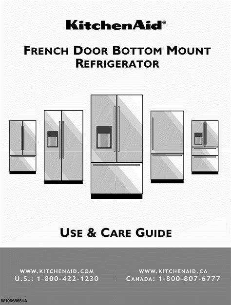 Kitchenaid Refrigerators Manual