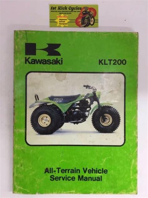 Klt 200 Service Manual