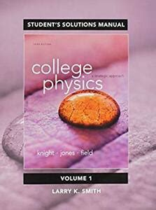 Knight Physics Solutions Manual