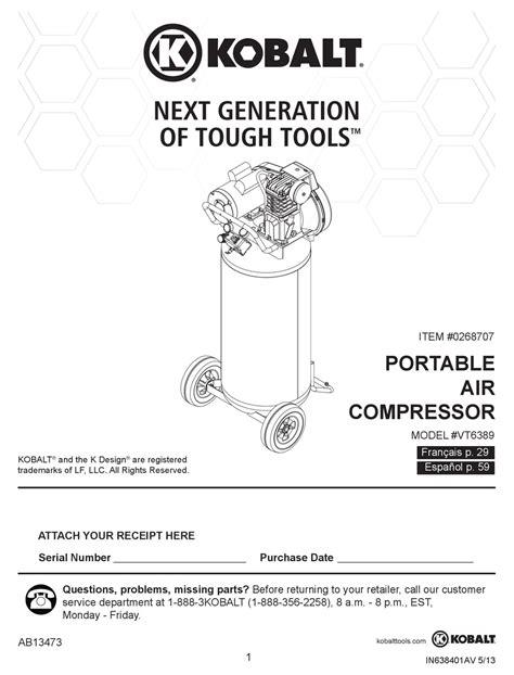 Kobalt Owners Manuals