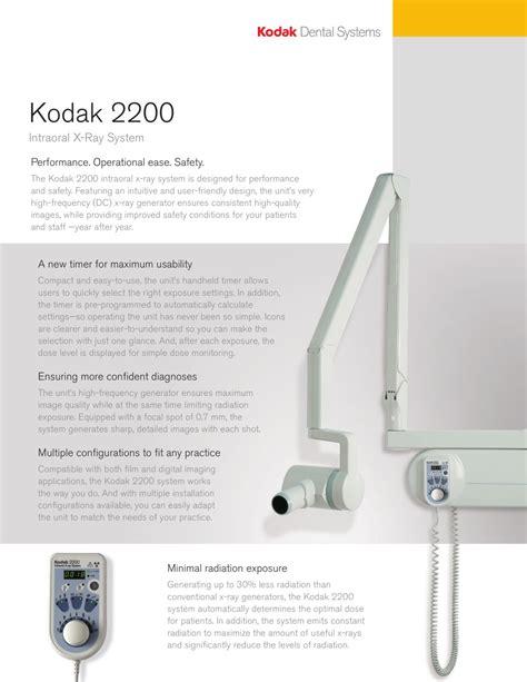 Kodak 2200 Tech Manual