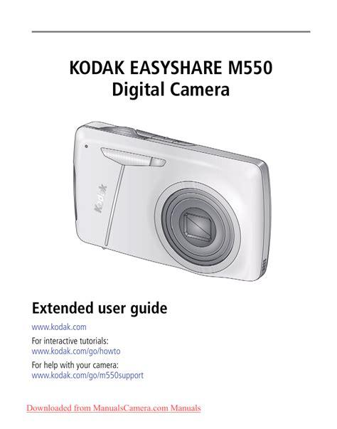 Kodak M550 User Guide