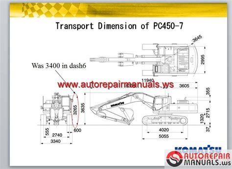 Komatsu Repair Manual For Pc 450