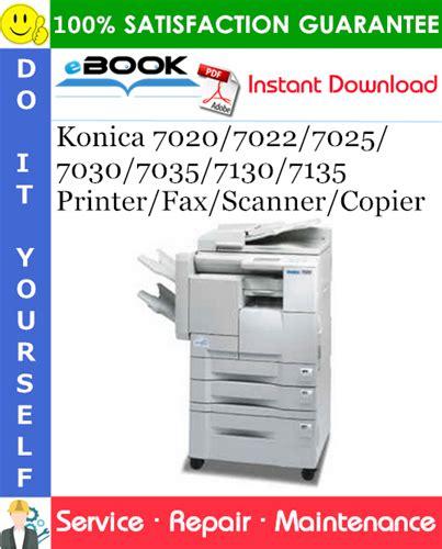 Konica 7035 Service Manual