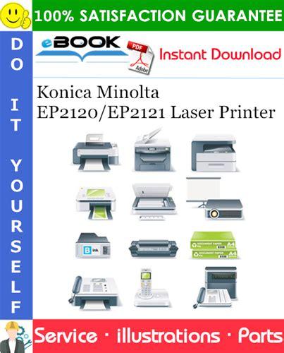 Konica Minolta Ep2120 Ep2121 Parts Manual