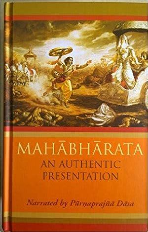 Krishna Book Store Devotional Books Mahabharata An Authentic Presentation