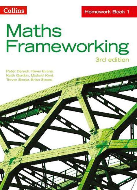 Ks3 Maths Homework Book 1 Maths Frameworking