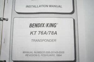 Kt76a Installation Manual