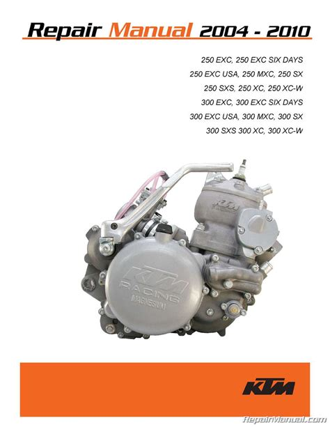 Ktm 300 Service Manual