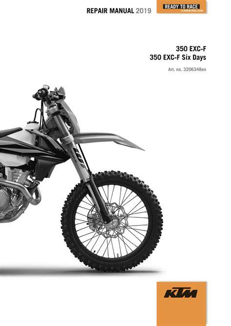 Ktm 350 Exc R Repair Manual 2018