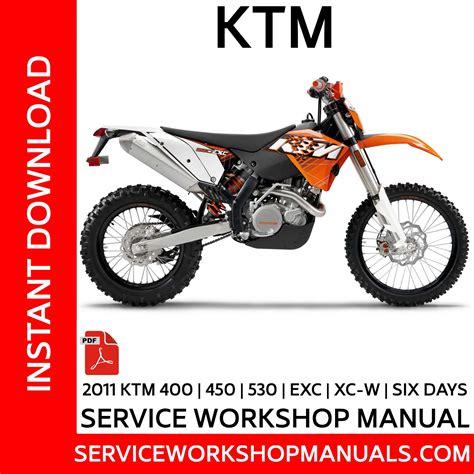 Ktm 400 Xc 2000 2007 Workshop Service Repair Manual