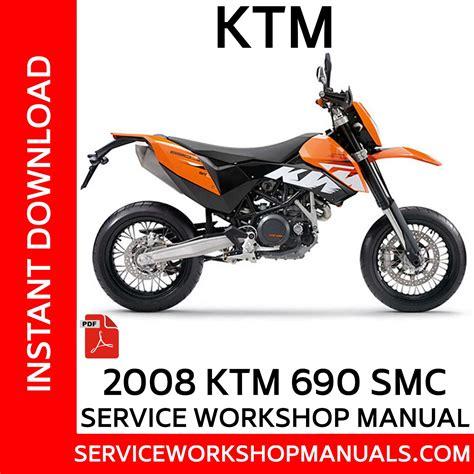 Ktm 690 Smct Repair Manual