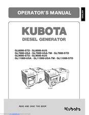 Kubota Generator Manual