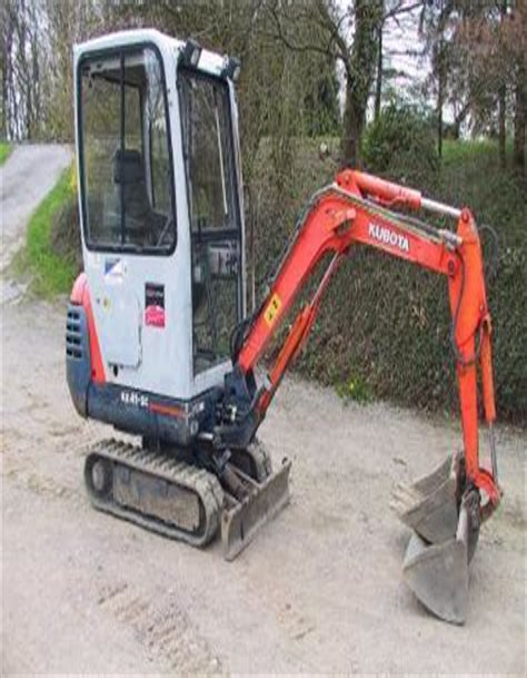 Kubota Kx41 Service Manual