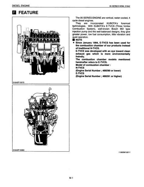 Kubota Parts Manual For V1505 Diesel Engine