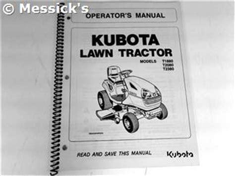 Kubota T2380 Parts Manual