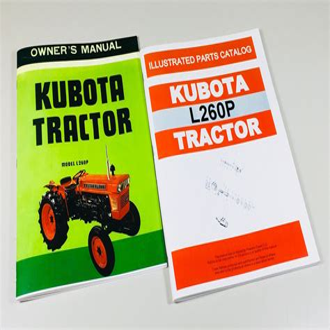 Kubota Tractor Model B7200e Parts Manual Catalog