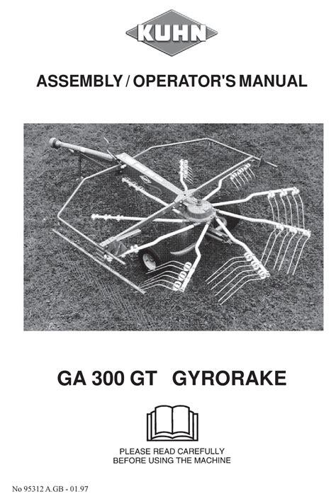 Kuhn Ga 300 Manual