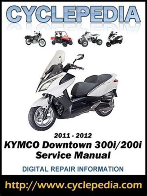Kymco Downtown Manual