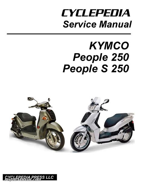 Kymco People S Replacement Parts Manual