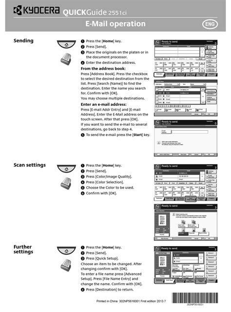 Kyocera Taskalfa Manual