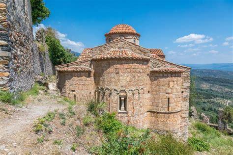 L'église saint-nicolas à mistra