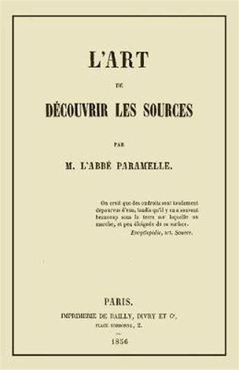 L'Art de Decouvrir les Sources: La Geognosie
