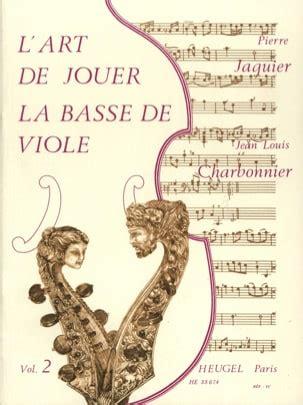 L'art de jouer la basse de viole - Volume 2