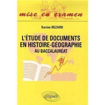 L Etude De Documents En Histoire Geographie Au Baccalaureat