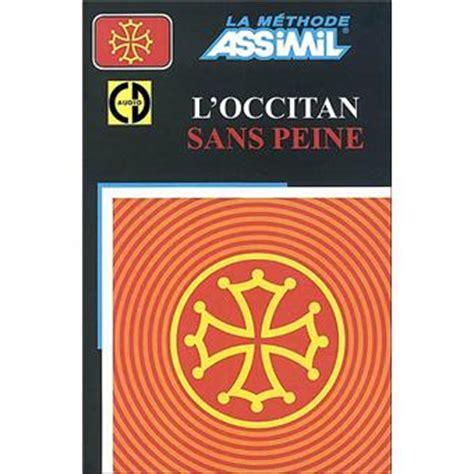 L Occitan Sans Peine Livre