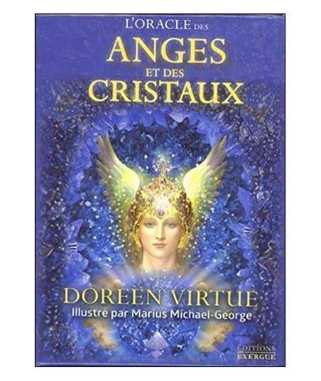 L Oracle Des Anges Et Des Cristaux Avec 44 Cartes