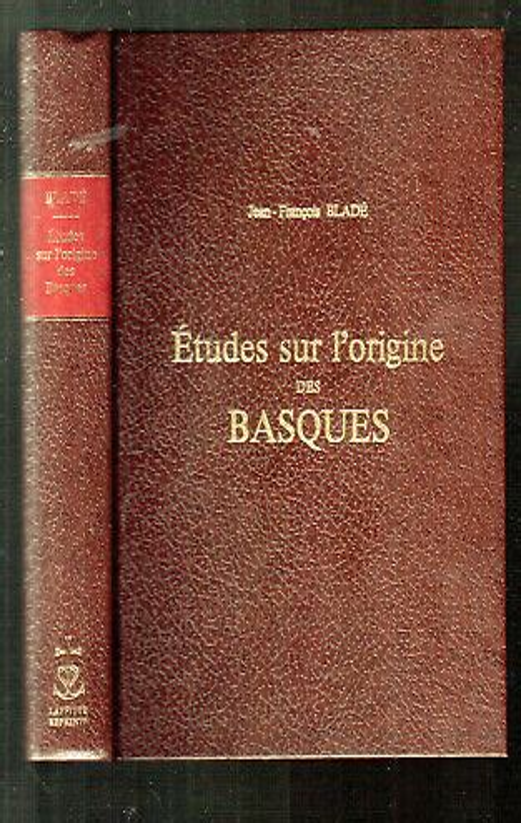 L Origine Des Basques