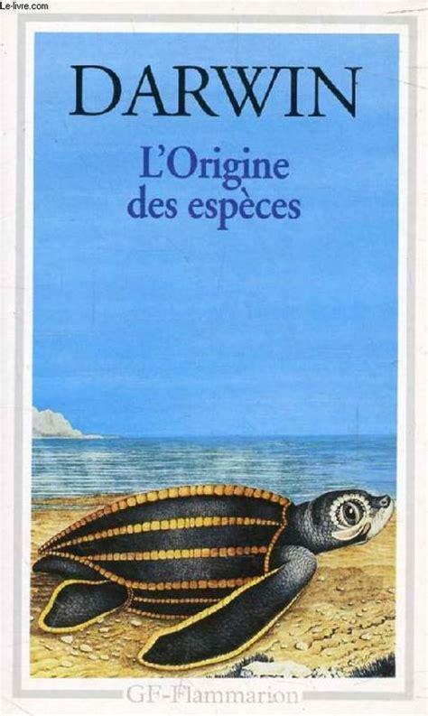 L Origine Des Especes