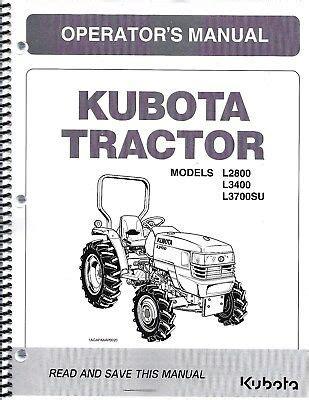 L3700su Kubota Service Manual