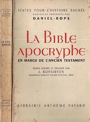 La Bible Apocryphe