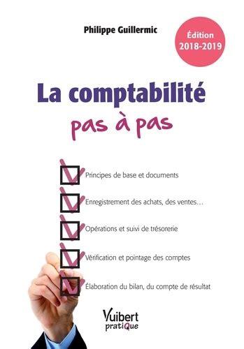 La Comptabilite Pas A Pas Edition 2018 2019