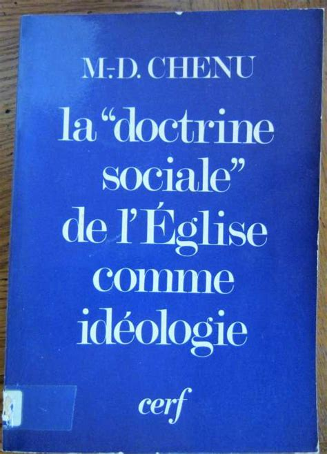 La Doctrine Sociale De L Eglise Comme Ideologie