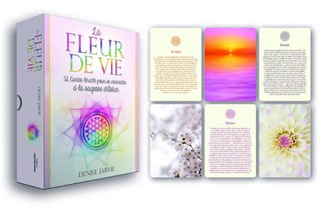 La Fleur De Vie 52 Cartes Oracle Pour Se Connecter A La Sagesse D Astar