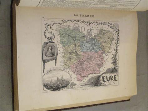 La France, Nouvel Atlas Illustré des Départements & des Colonies. La France physique, administrative et routière.