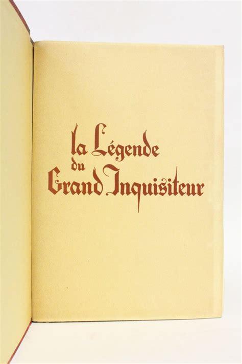 La Legende Du Grand Inquisiteur