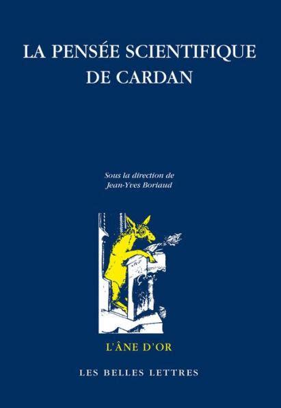 La Pensee Scientifique De Cardan