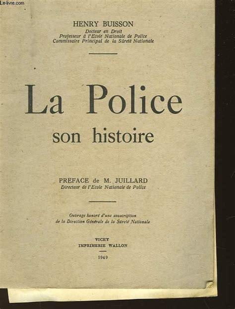 La Police Son Histoire