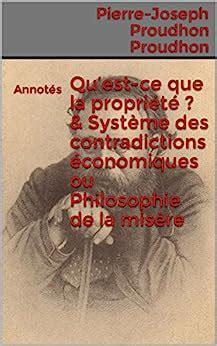 La Propriete Economique French Edition