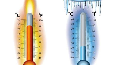 La chaleur et le froid