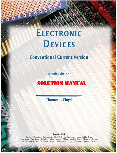 Laboratory Manual Electronic Devices Floyd 9th Edition Solution