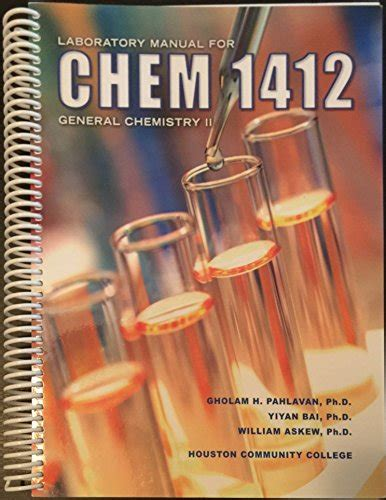 Laboratory Manual For Chemistry 1412