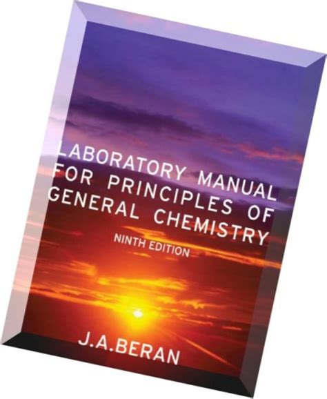 Laboratory Manual For Principles Of General Chemistry 9th Edition Answers