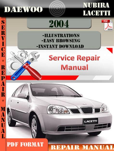 Lacetti Repair Manual