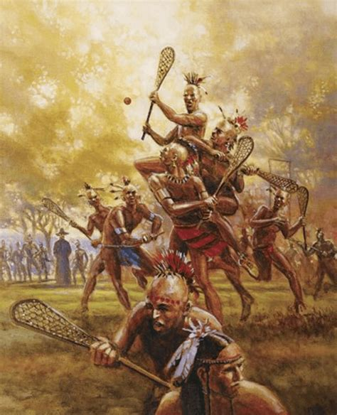 Lacrosse A History Of The Game