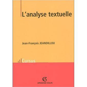 Lanalyse Textuelle